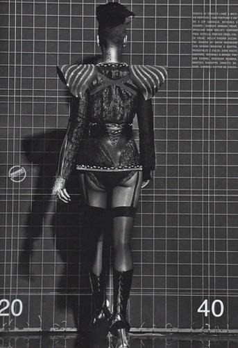 Rihanna Vogue Cover - Behind