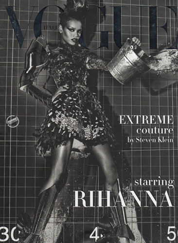 Rihanna Vogue Cover - September 2009