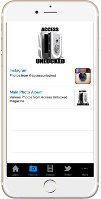 Access Unlocked iPhone App