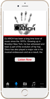 DJ ARCH iPhone App