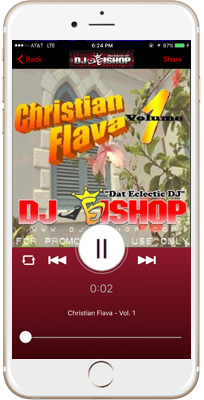 DJ Bishop iPhone App