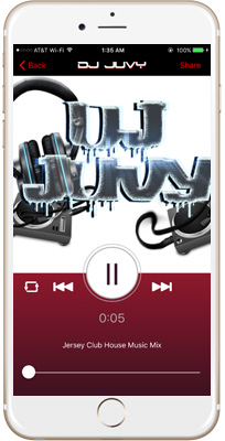 Dj Juvy iPhone App