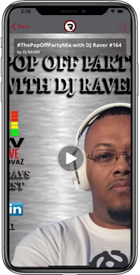 DJ Raver iPhone App