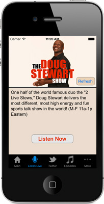 The Doug Stewart Show iPhone App