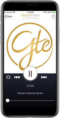 GTE Events iPhone App