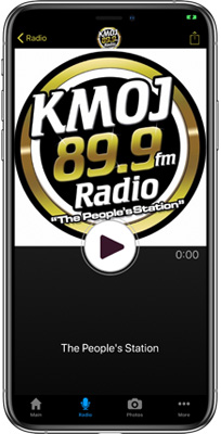 KMOJ FM - Minneapolis/St.Paul iPhone App