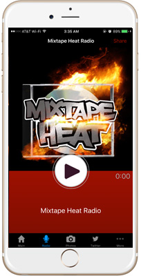 Mixtape Heat iPhone App