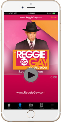 Reggie Gay iPhone App