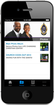 Life Changing Christian Center iPhone App