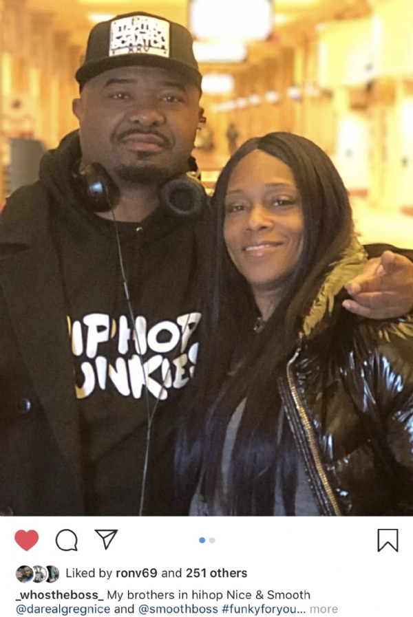 Peace To Unc Greg Nice Rockin Our Hip Hop Junkies Hoodie