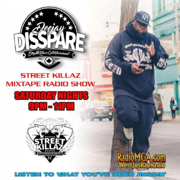 Street Killaz Mixtape Show with @djdisspare @streetkillazent every Tuesday , Wednesday, Saturday!