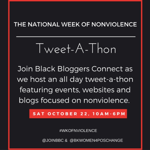 National Week of Nonviolence Tweet-A-Thon