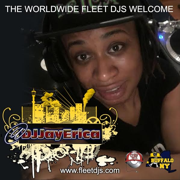Welcome the newest member of the World Wide Fleet Dj's @DJJayErica