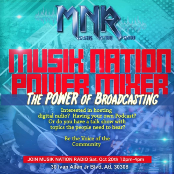 WANTED!!! Talk Shows, Radio Host, Podcast & DJs, Join the Musik Nation Radio family