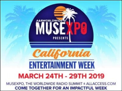 MUSEXPO CREATIVE SUMMIT & WORLDWIDE RADIO SUMMIT 2019 HEADS TO BURBANK, CA