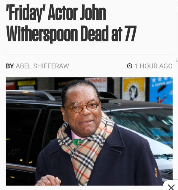 Fresh In Peace John Witherspoon