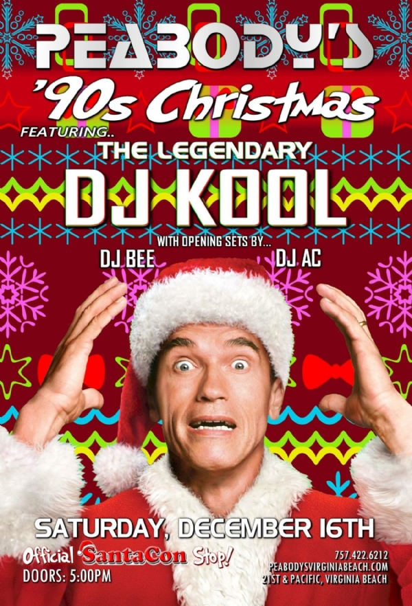 ***Breaking News*** DJ Kool @ Peabodys #Santacon