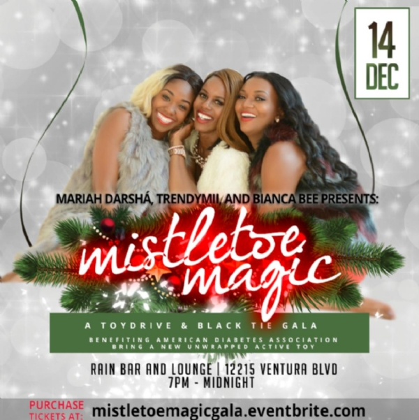 Mistletoe Magic Toy Drive & Black Tie Gala!