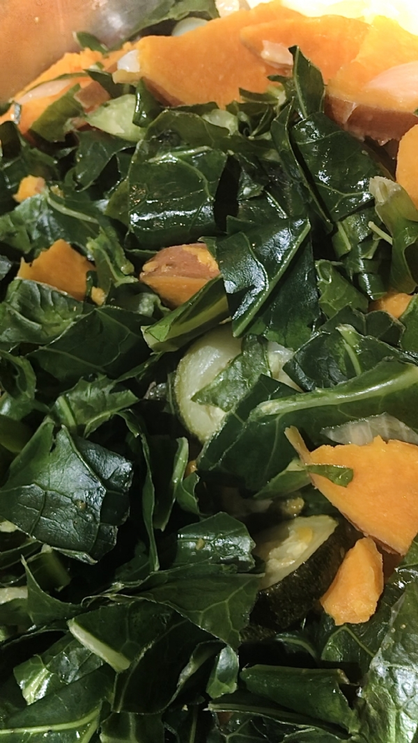 Omg..! You Must Try These Sweet Potato Collard Green's For Thanksgiving!