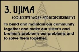 "Happy Kwanzaa: Today's principle is ""Umija"" Collective and Responsibilty"
