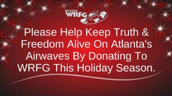 Please Donate to WRFG This Holiday Season