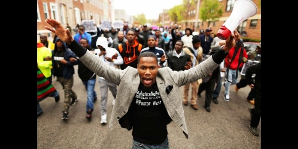 the baltimore riots and the death of freddie gray