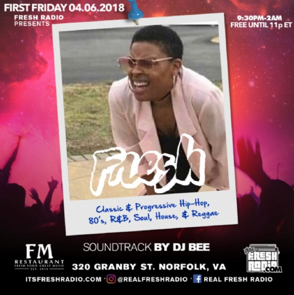 Join this Friday @FMonGranby it's Norfolk's First Friday $5 Crushes #crushfridayva Free until 11p