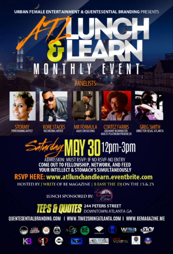 lunch and learn invitations