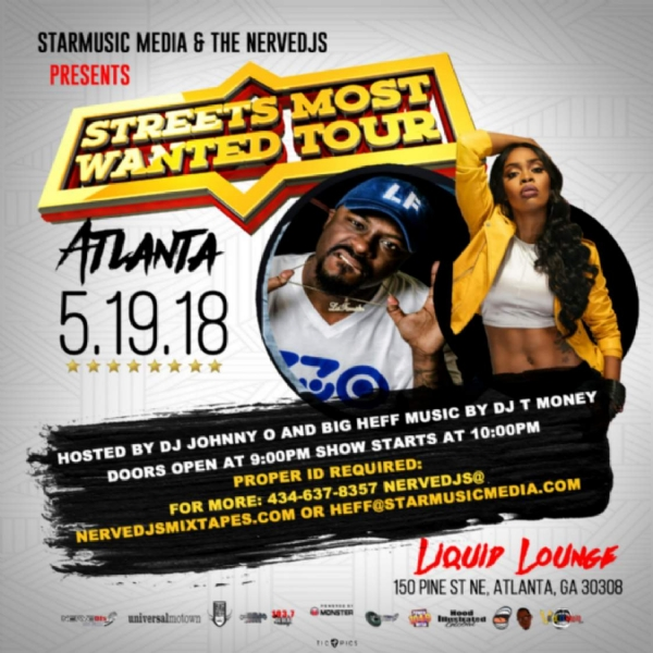 Streets Most Wanted Tour ATL