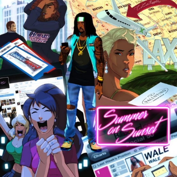 "NEW WALE ""SUMMER ON SUNSET"" MIXTAPE DOWNLOAD NOW"