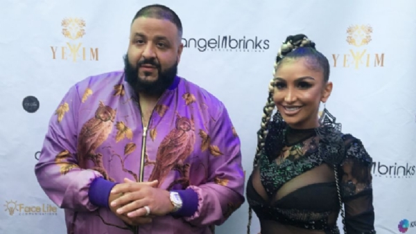 DJ Khaled x Angel Brinks & Celebrities Lil Kim & More Celebrate Fashion Day Party With YEKIM