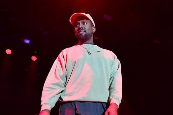 Kanye West Celebrates 41st Birthday With Kid Cudi, Pusha T