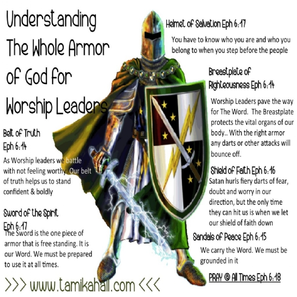 The Whole Armor of God for Worship Arts Leaders