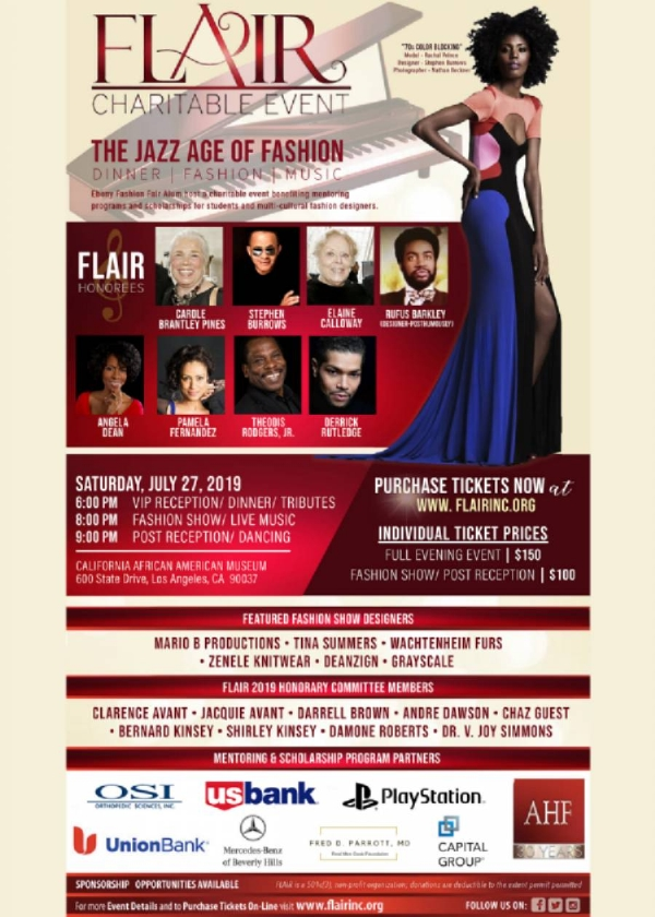#OOTD | FLAIR 2019 RUNWAY SET TO MAKE A FASHION STATEMENT WITH THE JAZZ AGE OF FASHION THEME