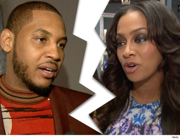 Split could cost Carmelo and LaLa $200 million