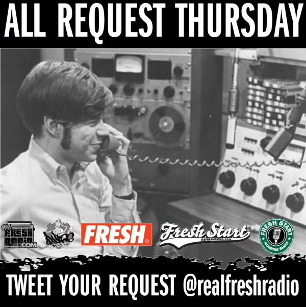 #allrequestthursday In Effect Starting At 8a ET