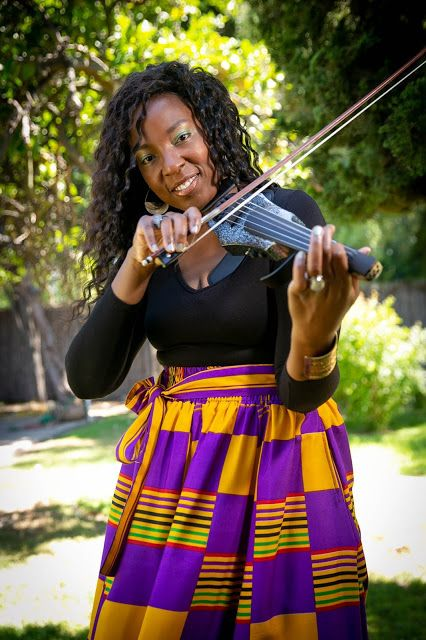 [BLACK MUSICIANS YOU SHOULD KNOW]  LADY ZHE (Violinist)