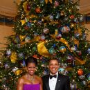 President Barack Obama and First Lady Michelle Obama, 2013 Christmas