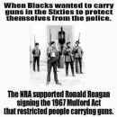 Why has America always created laws to prevent black folks from arming ourselves?