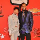 Singer Willow Smith and Actor Will Smith