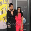 TV Personalities Kris Jenner and Kourtney Kardashian