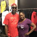 Uggly Eyes Apparel Owner Keith Jenkins  With Model Tina Bina