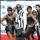"Sean ""Diddy"" Combs and friends on the red carpet at the 2010 BET Awards"