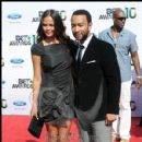 John Legend and guest arrive to the 2010 BET Awards
