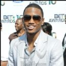 Trey Songz on the red carpet at the 2010 BET Awards