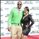 NBA's Carmelo Anthony & Wife LaLa on the red carpet at the 2010 BET Awards