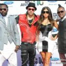 The Black Eyed Peas arrive at the 2010 BET Awards