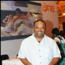CNN's Roland Martin at the TV One booth at Essence Music Fest 2010