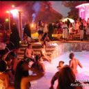 Outside at the Mansion Pool Party event
