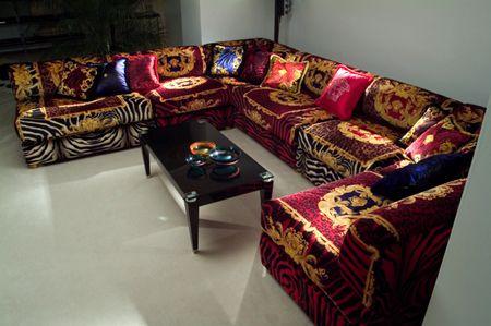 Blackvibes Com Kanye West S Versace Sofa